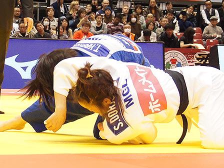 準決勝 芳田司 vs S.DORJSUREN�C