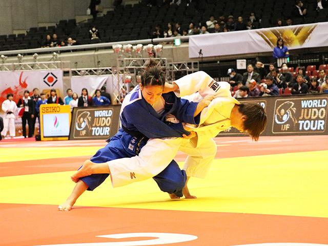 柔道グランドスラム東京2016 女子48kg級 準々決勝 近藤亜美 vs 渡名喜風南�@