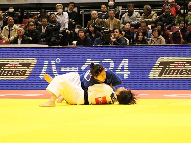 柔道グランドスラム東京2016 女子48kg級 準々決勝 近藤亜美 vs 渡名喜風南�A
