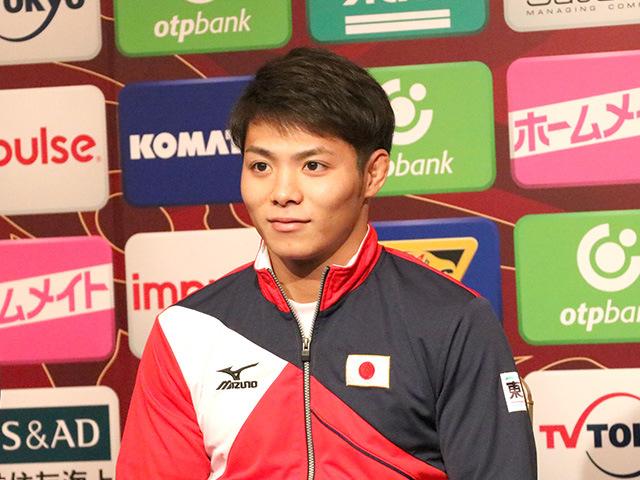 男子66kg級出場 阿部一二三選手