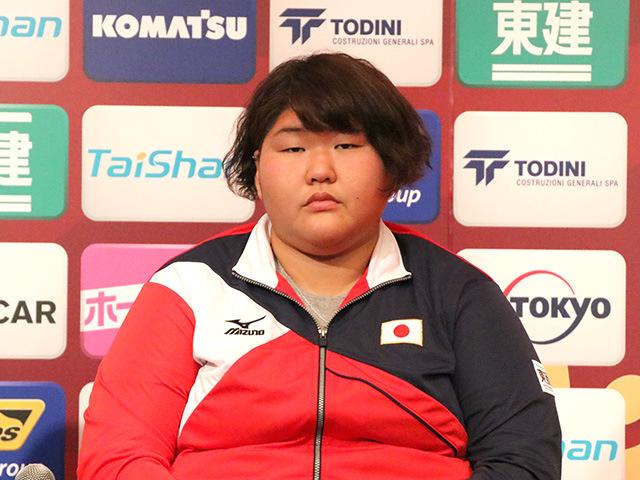 女子78kg超級出場 朝比奈沙羅選手
