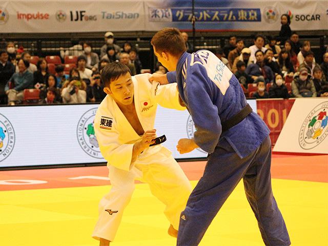 柔道グランドスラム東京2017 男子60kg級 2回戦 高藤直寿 vs D.STARKEL�@
