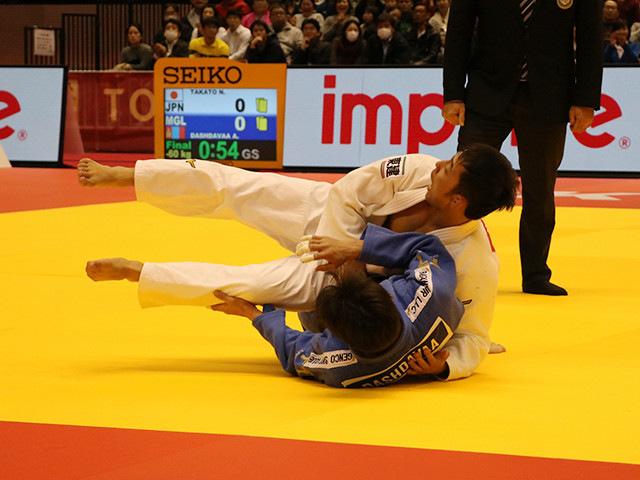 柔道グランドスラム東京2017 男子60kg級 決勝戦 高藤直寿 vs A.DASHDAVAA�A