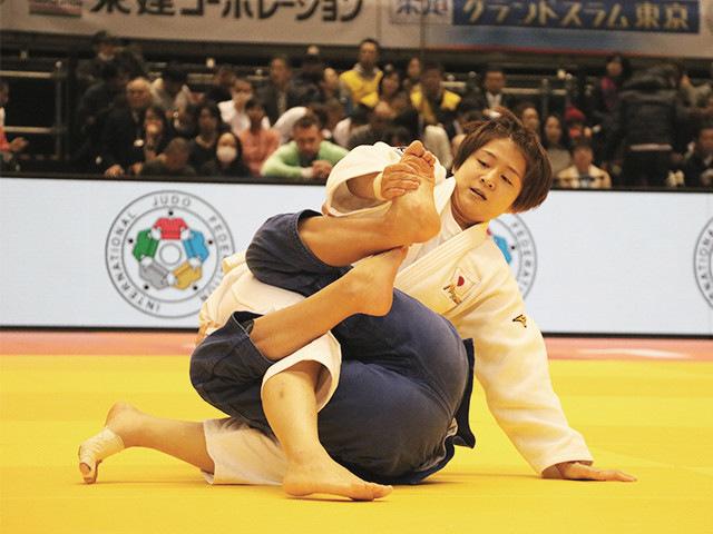 柔道グランドスラム東京2017 女子57kg級 準決勝戦 芳田司 vs H.KARAKAS