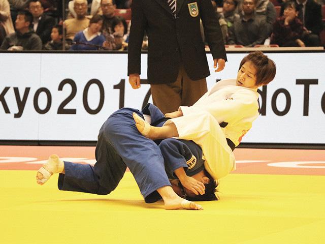 柔道グランドスラム東京2017 女子57kg級 決勝戦 芳田司 vs 山本杏�@