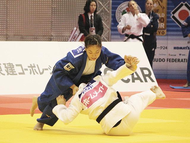 63kg級 津金恵 vs Y.JI