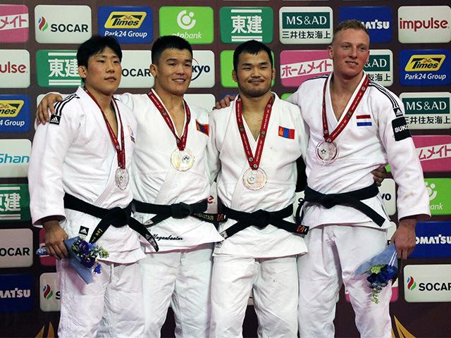 男子81kg級 表彰式