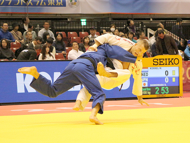 100kg級 M.KORREL vs 下和田翔平