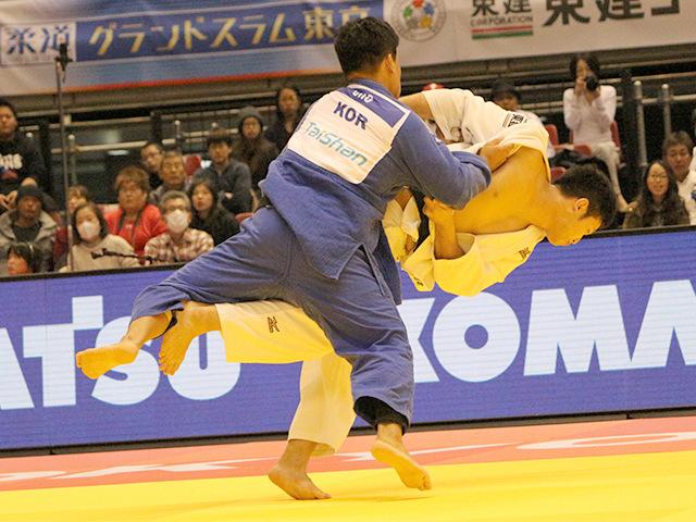 100kg級 G.CHO vs 飯田健太郎