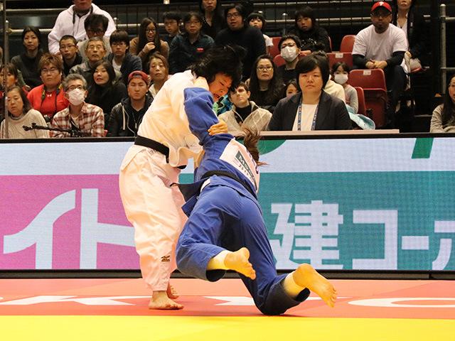 柔道グランドスラム東京2017 女子78kg級 決勝戦 濱田尚里 vs G.STEENHUIS�@