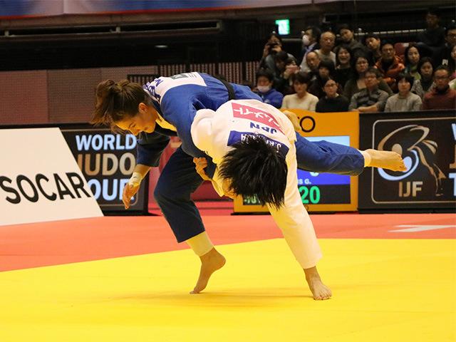 柔道グランドスラム東京2017 女子78kg級 決勝戦 濱田尚里 vs G.STEENHUIS�A