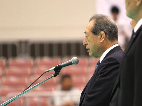 全日本柔道連盟 藤田弘明副会長の挨拶