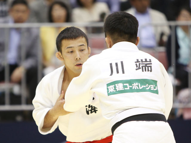 男子60kg級 準決勝 川端龍−高藤直寿�@