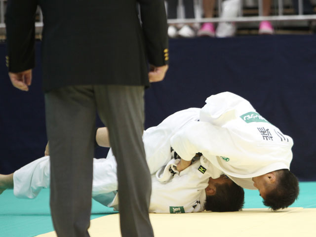 男子60kg級 準決勝 川端龍−高藤直寿�A