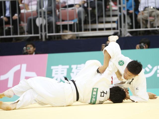 男子60kg級 決勝 川端龍−石川裕紀�A