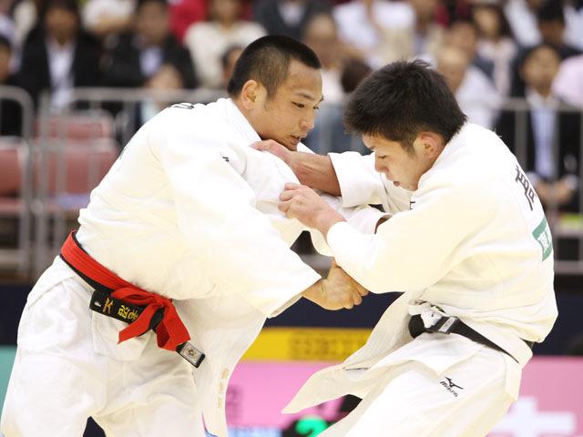男子66kg級 準決勝 海老沼匡−高上智史�A