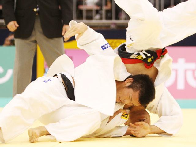 男子66kg級 準決勝 福岡政章−海老沼匡�@