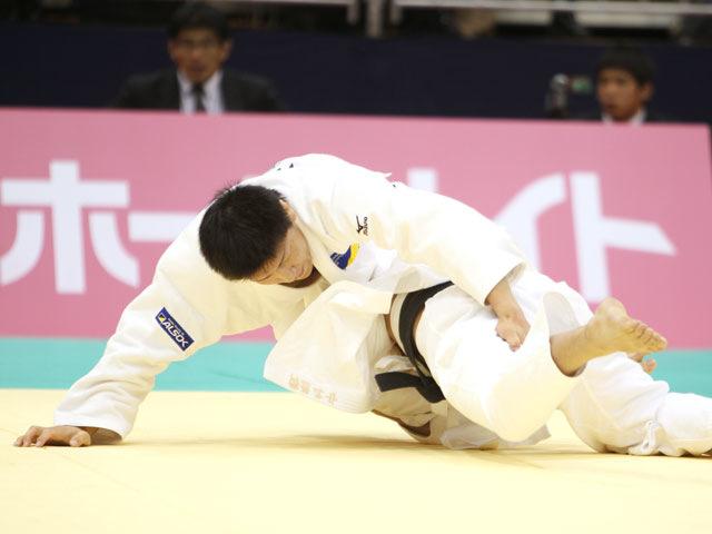 男子73kg級 準決勝 中矢力−中村剛教�A