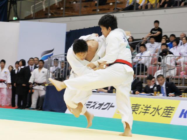 男子73kg級 準決勝 西山雄希−大野将平�@