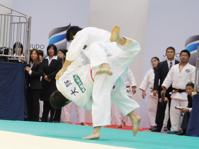 男子73kg級 準決勝 西山雄希−大野将平�A