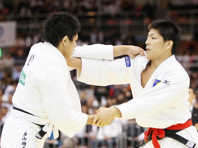 男子73kg級 決勝 中矢力−西山雄希�@