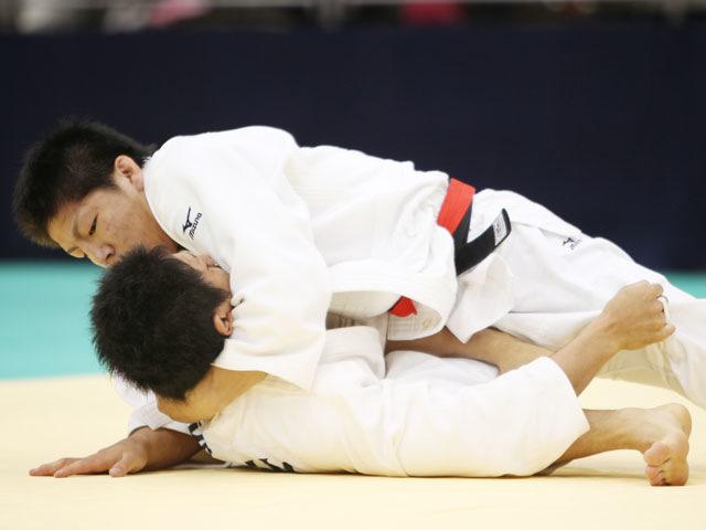 男子73kg級 決勝 中矢力−西山雄希�A