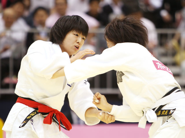 女子48kg級 準決勝 浅見八瑠奈−遠藤宏美�@