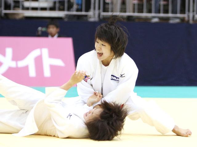 女子48kg級 準決勝 浅見八瑠奈−遠藤宏美�A