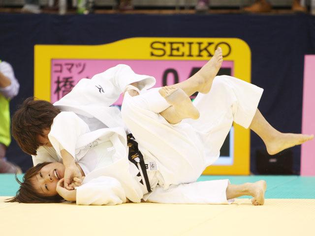 女子52kg級 決勝 橋本優貴−西田優香�A