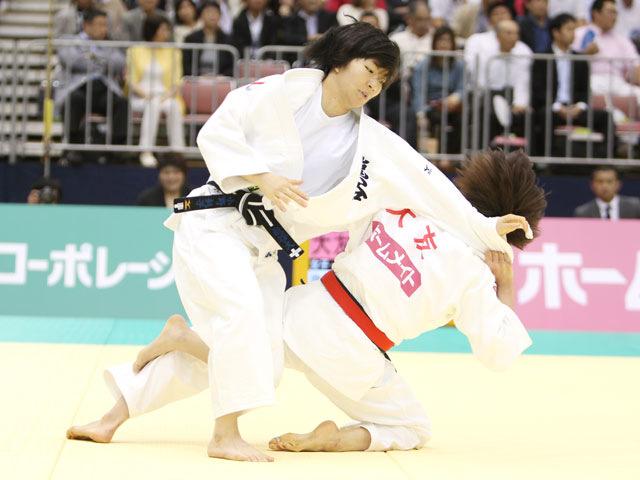 女子57kg級 準決勝 大友真貴子−小野彰子�@