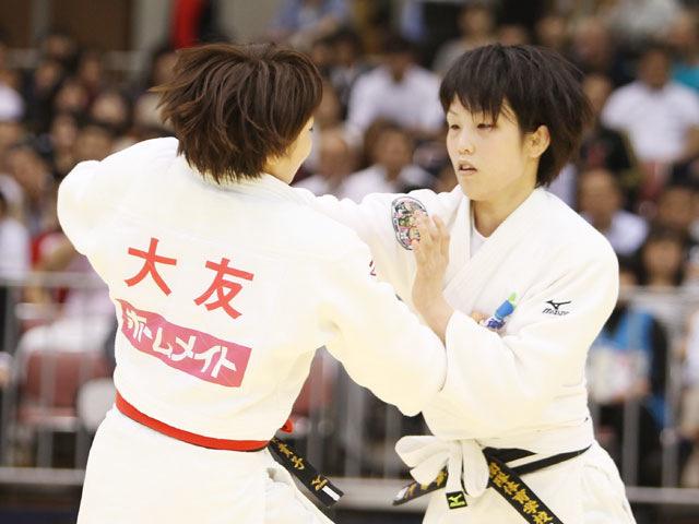 女子57kg級 決勝 平井希−大友真貴子�@