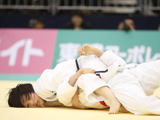 女子57kg級 決勝 平井希−大友真貴子�A