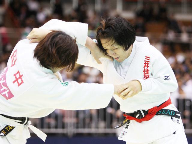 女子63kg級 決勝 阿部香菜−田中美衣�@