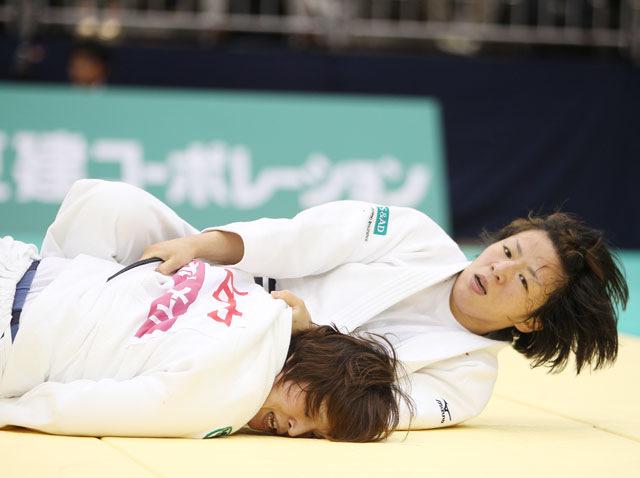 女子63kg級 決勝 阿部香菜−田中美衣�A