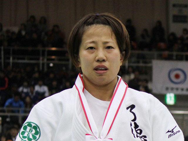 女子52kg級優勝