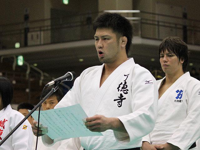 選手宣誓 小野卓志選手