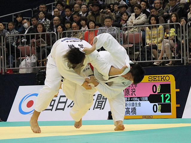1回戦 原沢久喜 vs 高橋和彦