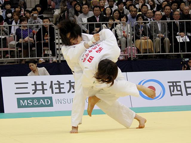 決勝 西田優香 vs 中村美里�A