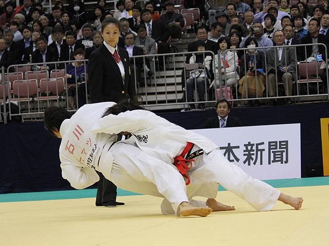 1回戦 出口クリスタ vs 石川慈