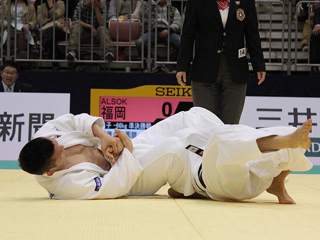 準決勝 六郷雄平 vs 福岡政章