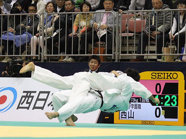 1回戦 大野将平 vs 西山雄希