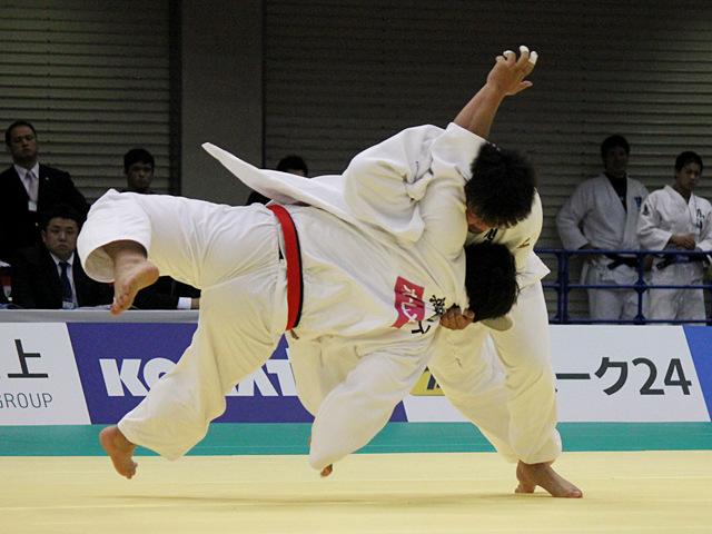 100kg超級 西潟健太 vs 岩尾敬太