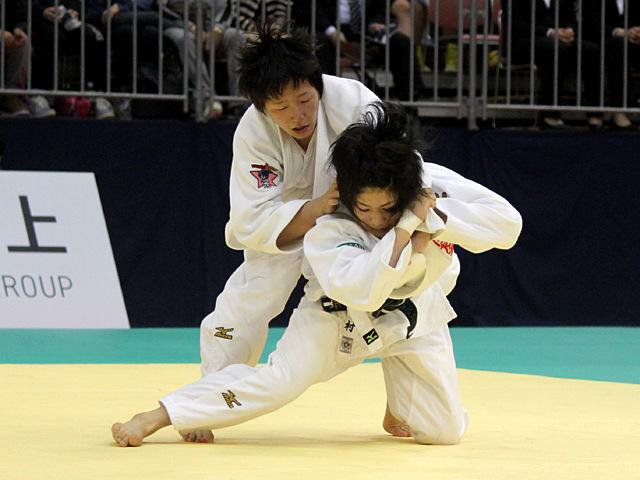 52kg級 中村美里 vs 橋本優貴