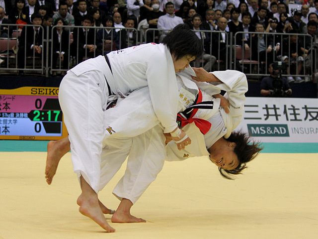 57kg級 松本薫 vs 山本杏