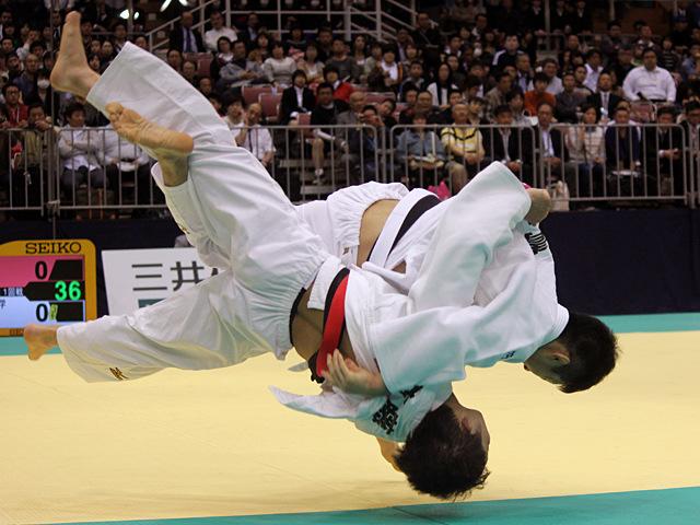60kg級 青木大 vs 高藤直寿