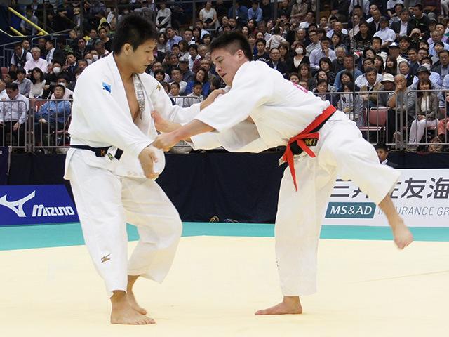 男子90kg級決勝戦 ベイカー茉秋vs西山大希�@