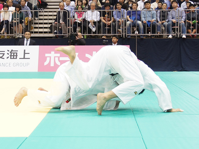 男子90kg級決勝戦 ベイカー茉秋vs西山大希�B