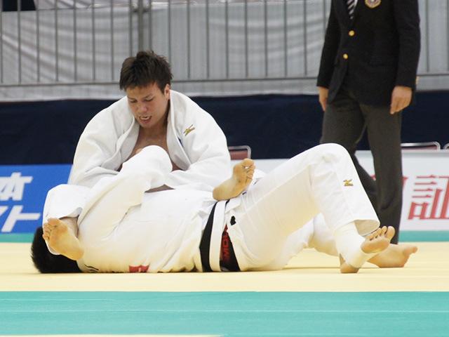 男子100kg超級準決勝戦 七戸龍vs小川雄勢�A