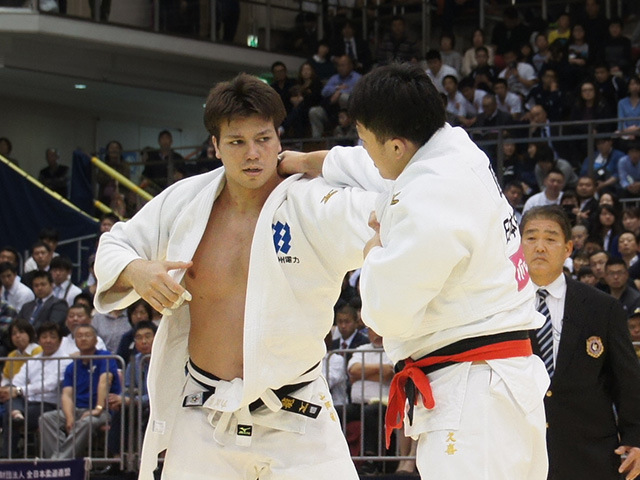 男子100kg超級決勝戦 七戸龍vs原沢久喜�@
