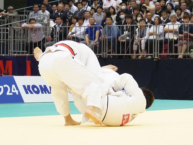 男子100kg超級決勝戦 七戸龍vs原沢久喜�A
